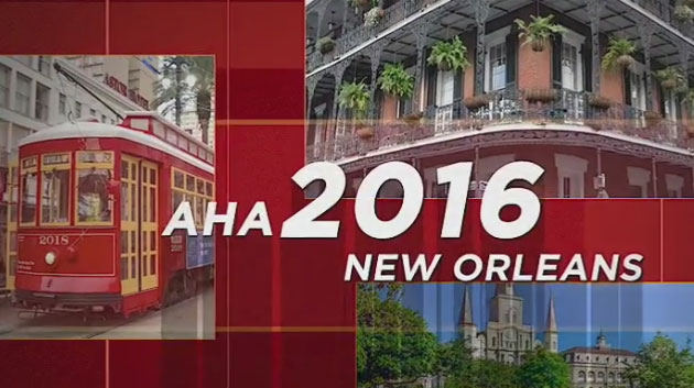 What's Up On Line - AHA 2016